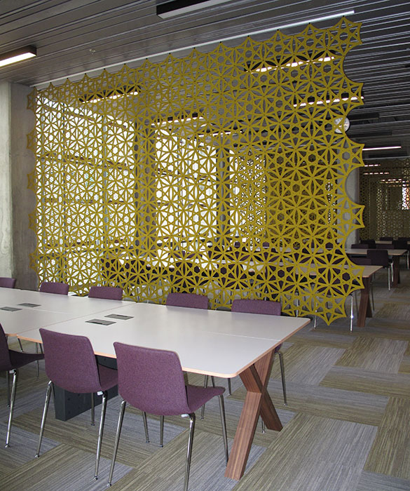 Airflake Acoustic Panels Airflake Acoustic Room Divider